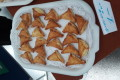 Greckie pierożki z fetą i kozim serem