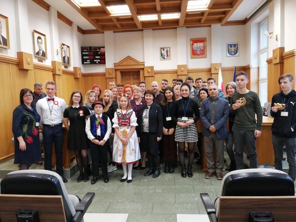 Projekt międzynarodowych w Zespole szkół ponadgimnazjalnych nr 2